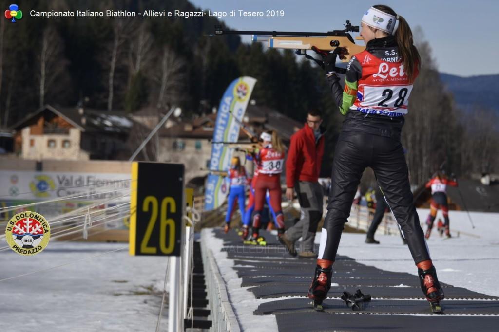 Campionato Italiano Biathlon Allievi e Ragazzi Lago di Tesero 20195 1024x682 BIATHLON Rag./Allievi Campionati Italiani, oro per il Trentino