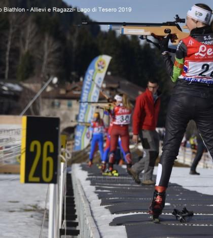 Campionato Italiano Biathlon - Allievi e Ragazzi- Lago di Tesero 20195