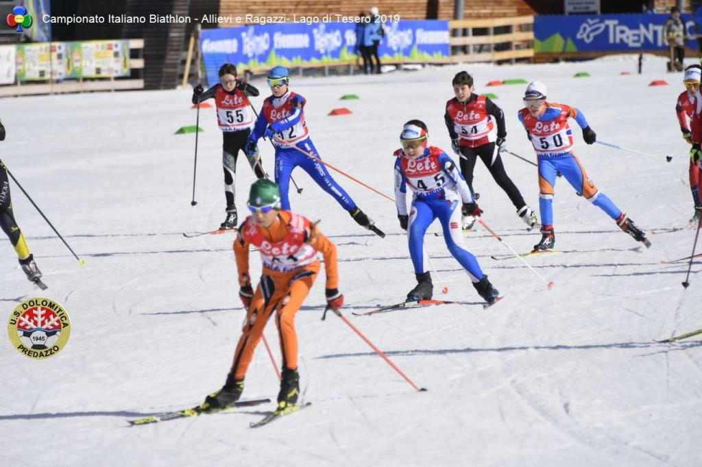 Campionato Italiano Biathlon Allievi e Ragazzi Lago di Tesero 20196 1024x682 BIATHLON Rag./Allievi Campionati Italiani, oro per il Trentino