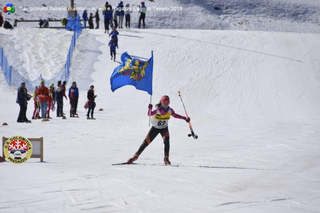 Campionato Italiano Biathlon Allievi e Ragazzi Lago di Tesero 20199 1024x682 BIATHLON Rag./Allievi Campionati Italiani, oro per il Trentino