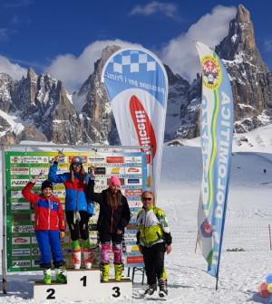 Passo Rolle, Gara Sci Alpino RagAll Circuito Casse Rurali