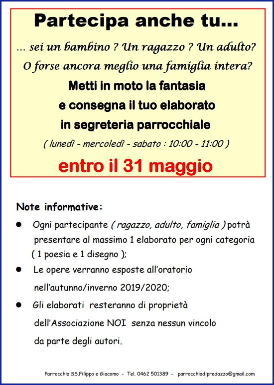 oratorio predazzo 50anni a Avvisi Parrocchie 24 31 marzo. Nuovo sito internet per l'Unità pastorale