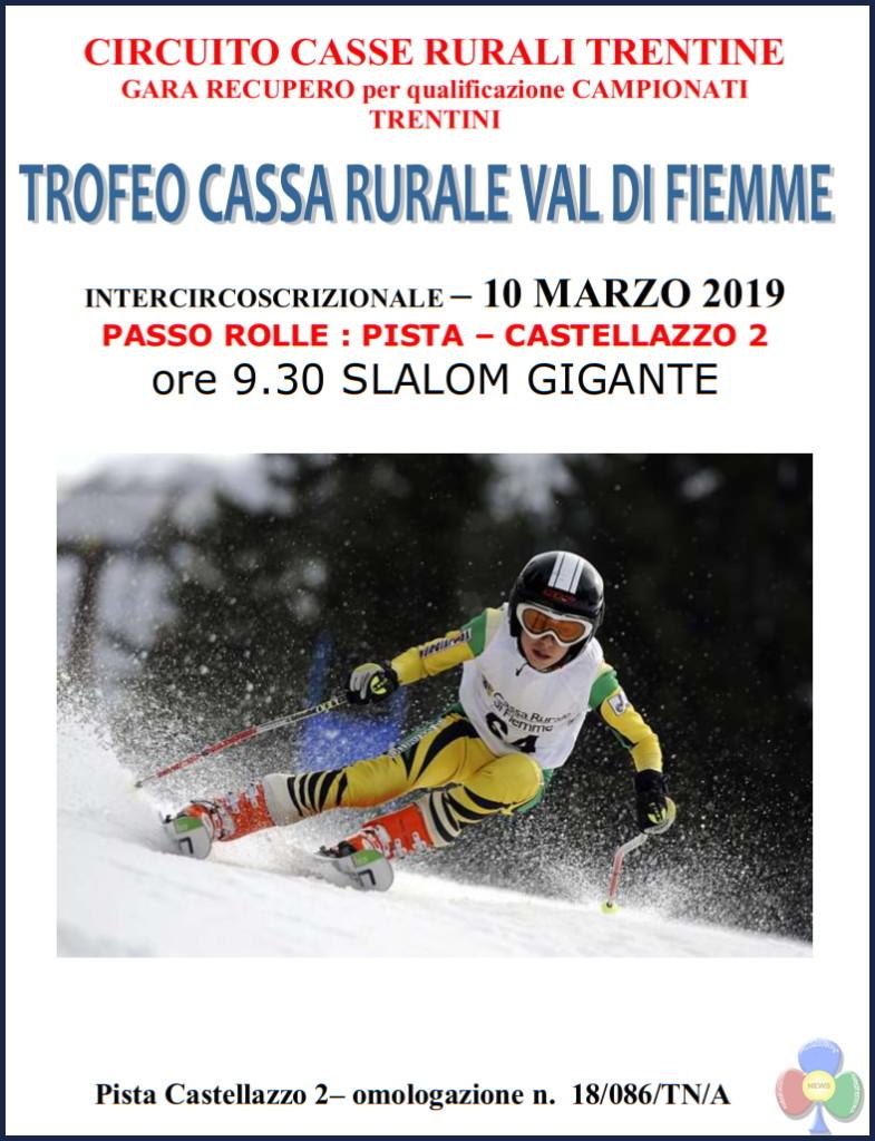 trofeo cassa rurale val di fiemme 2019 785x1024 BIATHLON Assegnati i Titoli Trentini 2019 in Val di Fiemme
