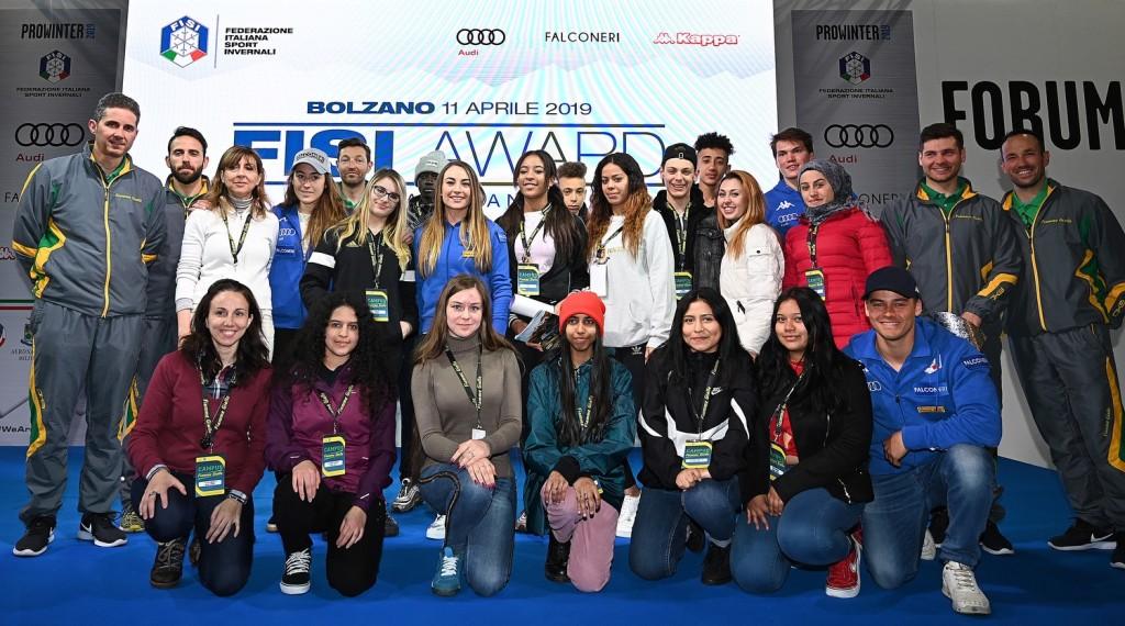 CAMPUS FFGG 2019 PHOTO ELVIS incontro con i campioni a Prowinter 1024x570 A Predazzo il secondo Campus Fiamme Gialle 2019