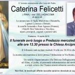caterina felicetti rina 150x150 Avvisi parrocchie Pasqua 2019   Auguri di suor Delia Guadagnini