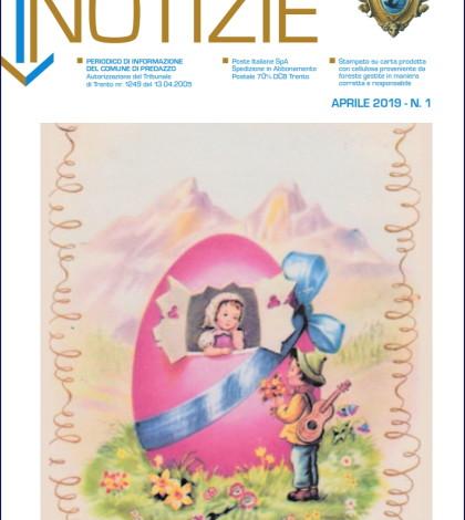 copertina predazzo notizie aprile 2019