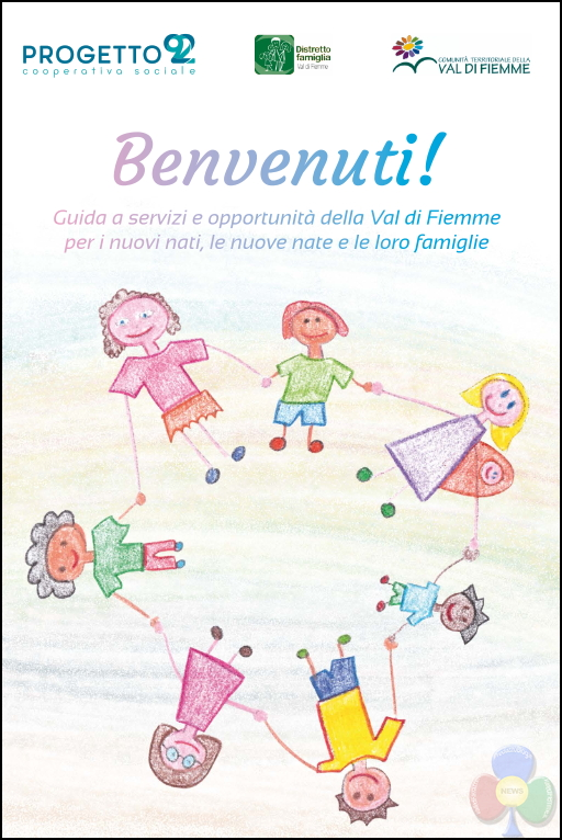 "nuovi nati fiemme 2019 Ai nuovi nati di Fiemme la guida ""BENVENUTI!"""
