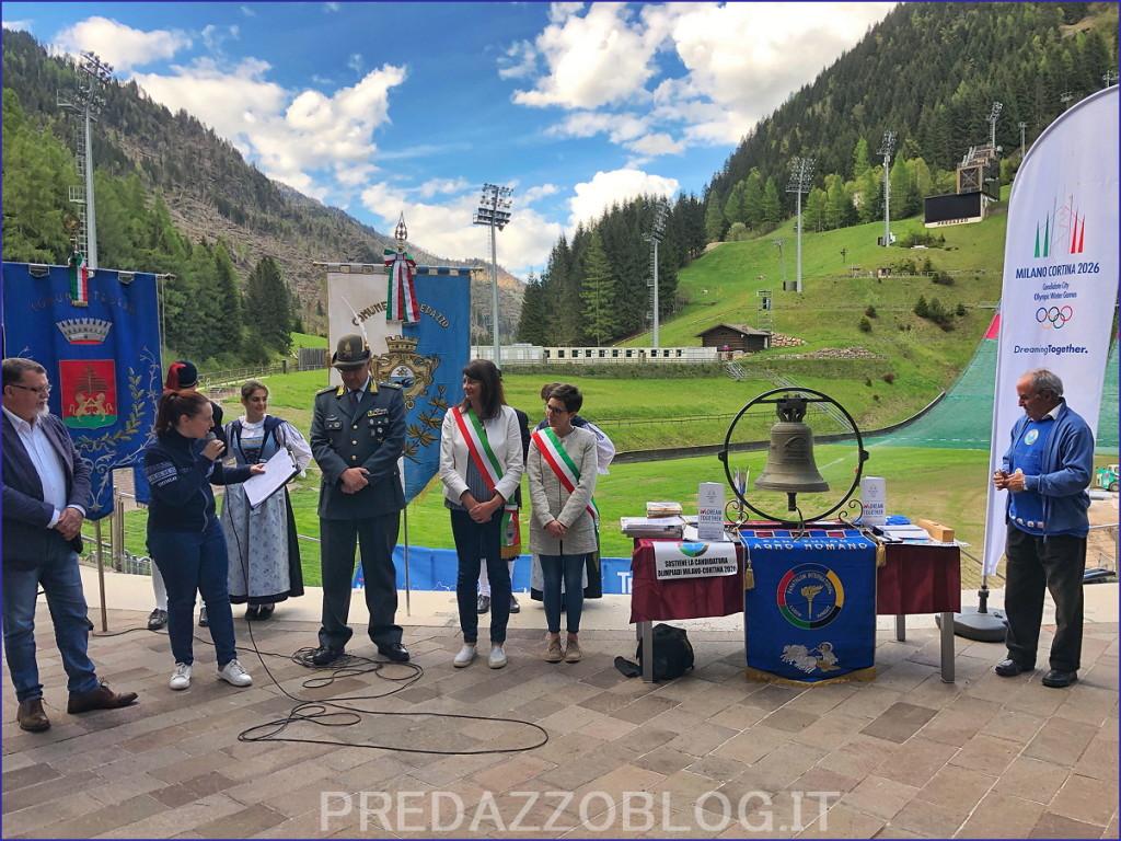 Panathlon Olimpiadi2026 Val di Fiemme 19 1024x768 Olimpiadi 2026, ai trampolini di Predazzo suona la campana del Panathlon