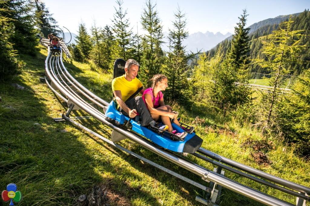 alpine coaster latemar 1024x682 MontagnAnimata, lestate da fiaba   Domenica 23 impianti gratis