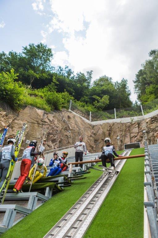 Nazionale Giovanile salto e combinata nordica predazzo luglio 2019 e Nazionale Giovanile salto e combinata nordica – HS22 / HS32 / HS66