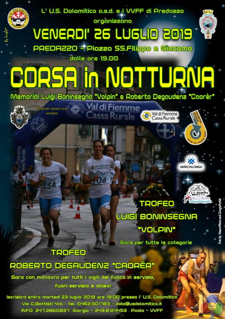 corsa notturna 2019 predazzo 723x1024 26 luglio 2019 la Corsa in Notturna a Predazzo