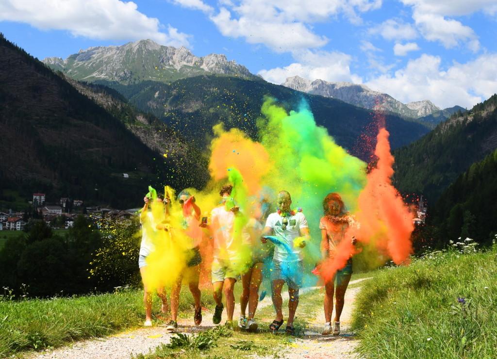 dolomiti color explosion predazzo1 1024x740 DOLOMITI COLOR EXPLOSION il 14 settembre a Predazzo