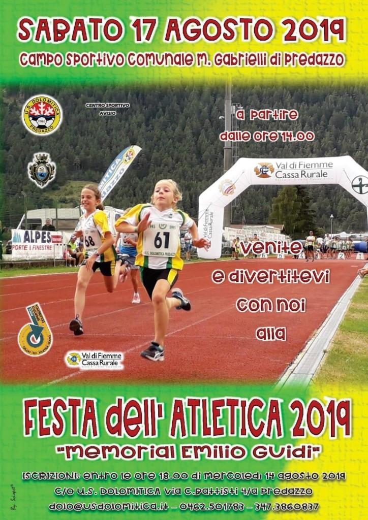 """festa atletica 2019 724x1024 SUCCESSO DI PUBBLICO ED EMOZIONI FORTI ieri sera a Predazzo per l'evento """"Fai un salto per Matteo"""""""