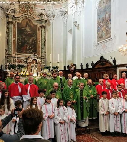 cavedine ingresso nuovo parroco don bruno morandini 29 settembre 2019