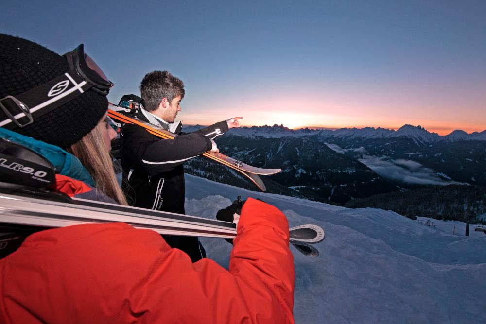 TRENTINO SKI SUNRISE Passo Feudo Pg. visitfiemme.it foto Federico Modica 33 Trentino Ski Sunrise, giovedì 26 dicembre 2019 Passo Feudo