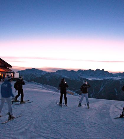 Trentino Ski Sunrse_Alba sulle Piste Ski Center Latemar Passo Feudo_F. Modica 11