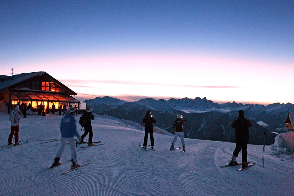 Trentino Ski Sunrse Alba sulle Piste Ski Center Latemar Passo Feudo F. Modica 11 Trentino Ski Sunrise, giovedì 26 dicembre 2019 Passo Feudo