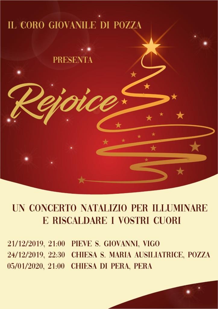 concerto natale coro giovanile pozza di fassa 723x1024 Orari S. Messe di Natale 2019 Fiemme e Fassa. Avvisi