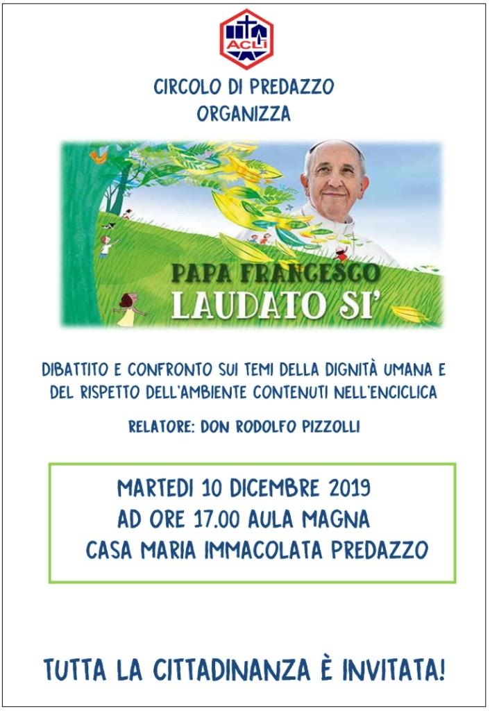"""laudato 706x1024 Conferenza sull'Enciclica di Papa Francesco """"Laudato sì"""""""