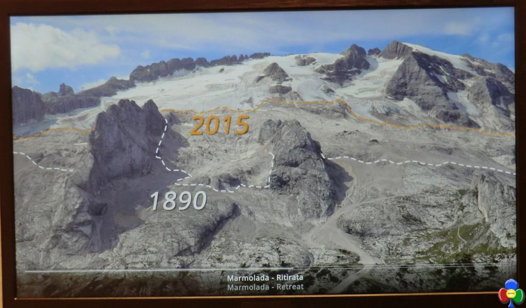 ritiro ghiacciaio marmolada storico predazzoblog 1024x600 LUniversità di Padova ricorda due illustri Predazzani