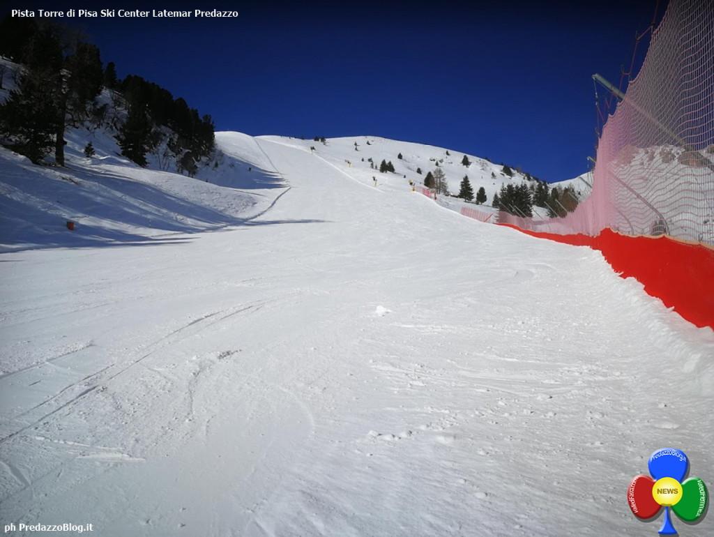 pista torre di pisa predazzo 1024x770 SCI: Trofeo Dolomitica e Memorial Ventura allo Ski Center Latemar