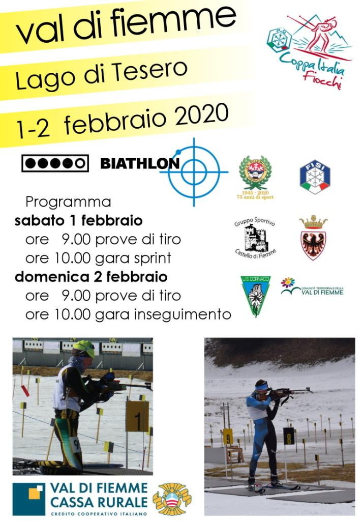 biathlon coppa fiocchi fiemme 714x1024  Disputata la quinta tappa della Coppa Italia Fiocchi di Biathlon