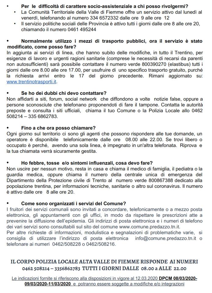 coronavirus lettera sindaco maria bosin ai concittadini 1 Coronavirus, lettera del Sindaco Maria Bosin ai Concittadini