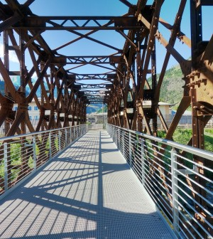 ciclabile predazzo ponte ferrovia ph gabriele dovolavilla