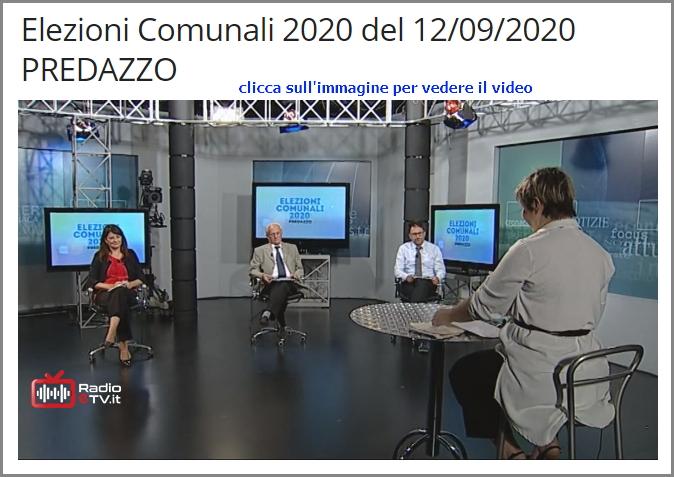 3 candidati sindaco rttr Elezioni Comunali 2020 a Predazzo   Liste e candidati