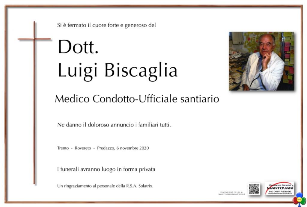 luigi biscaglia medico a predazzo 1024x689 Addio dottor Luigi Biscaglia, fu il medico di Predazzo